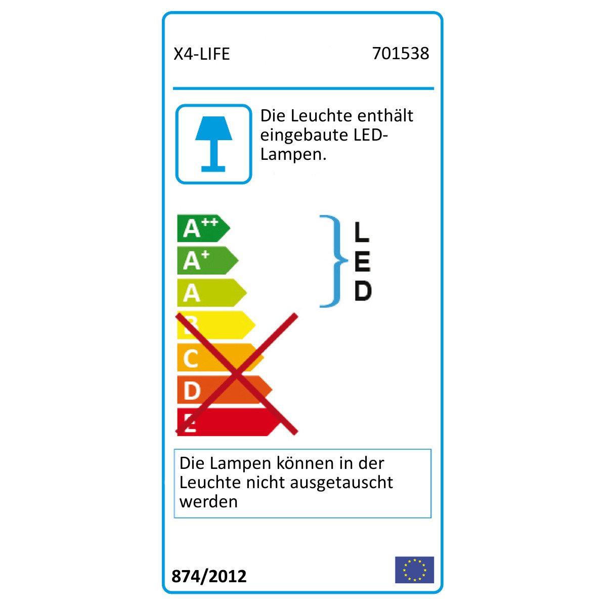 LED-Schneeflockenstrahler E-Label