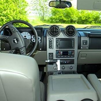 Limousinekørsel Hummer H2 2005 for op til 4 personer - Midt-/Vestsjælland