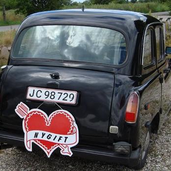 Limousinekørsel i sort London taxa for op til 6 personer - Storkøbehavn
