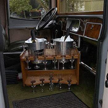 Limousinekørsel i Veteran Tivoli bus for op til 12 personer - Midt-/Vestsjælland
