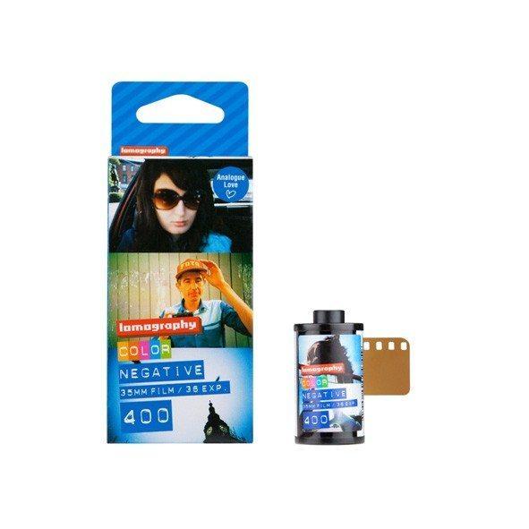 Lomography 35 mm farvenegativfilm ISO 400 - 3-pak