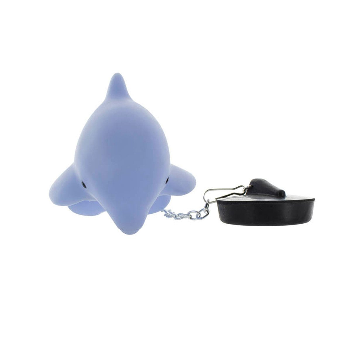 Lysende delfin som prop til badekarret
