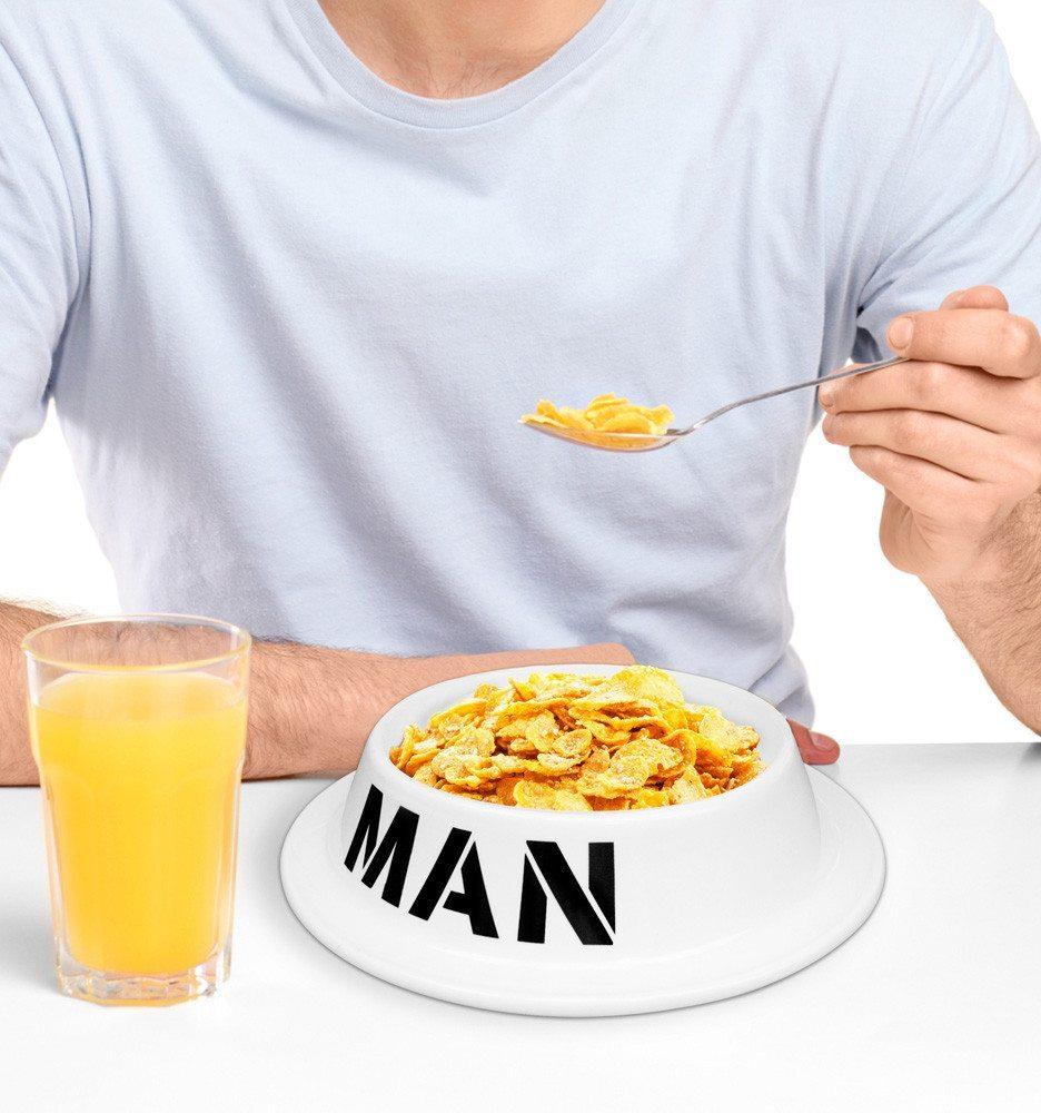 MAN - foderskålen til mænd