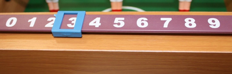 Mini-bordfodboldbord