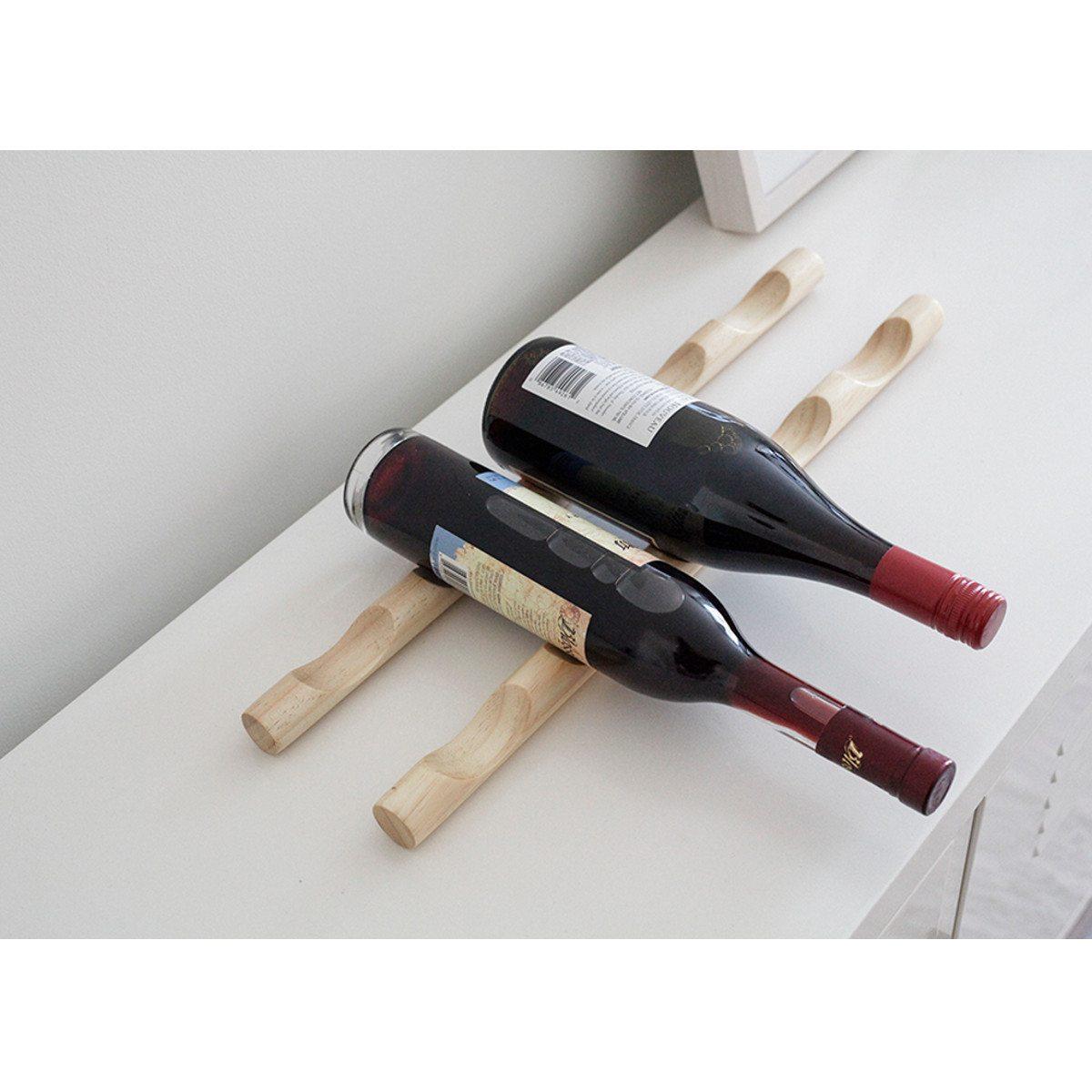 Minimalistisk vinreol