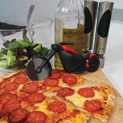 Motorcykel-pizzaskærer