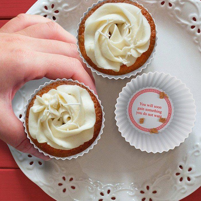 Muffinsforme med visdomsord