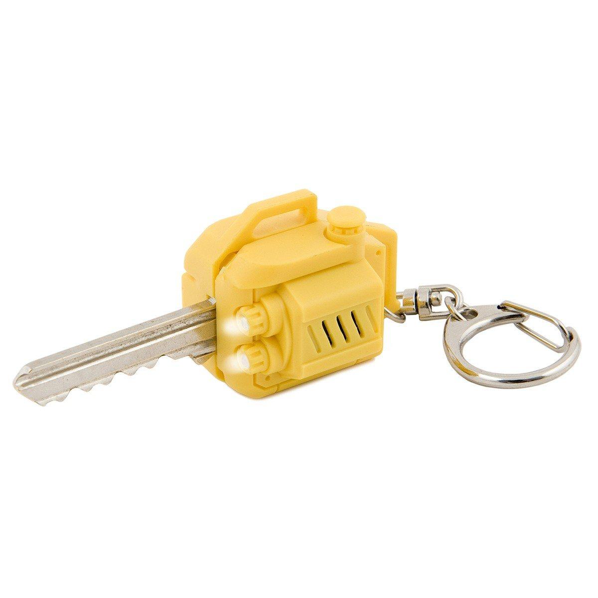 Nøgleovertræk i motorsavsdesign med lys