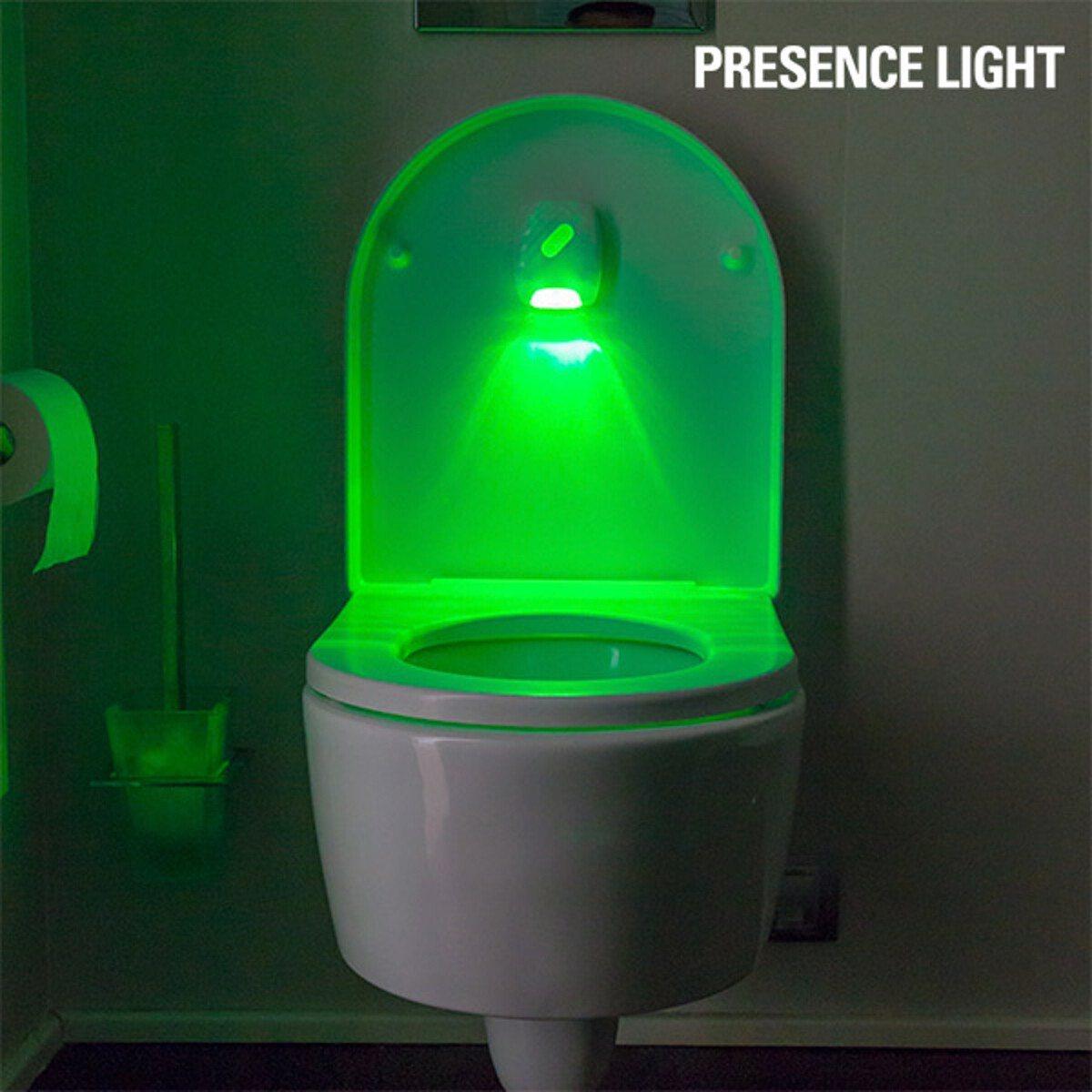 Oben oder unten? Das Toiletten-Signallicht - Szene