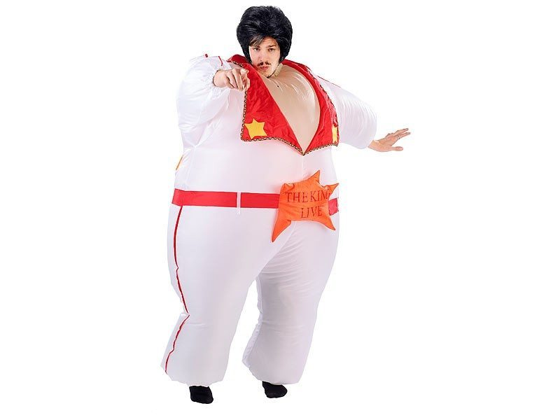 Oppusteligt Elvis-kostume