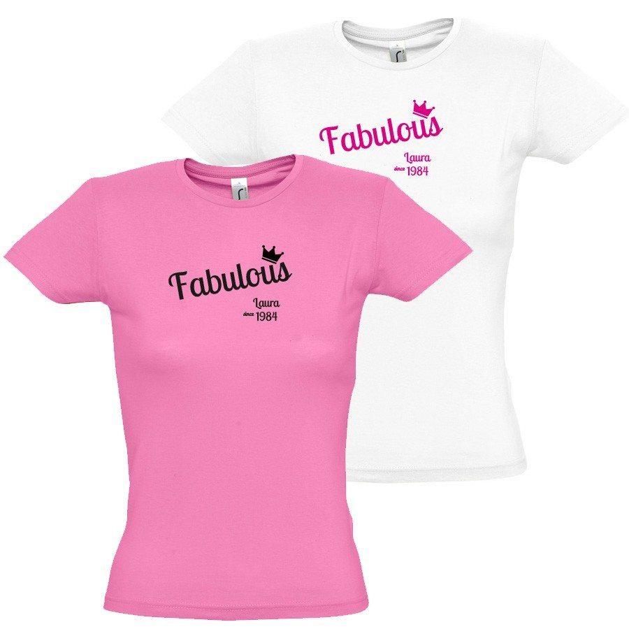 Personlig fabulous T-shirt til kvinder