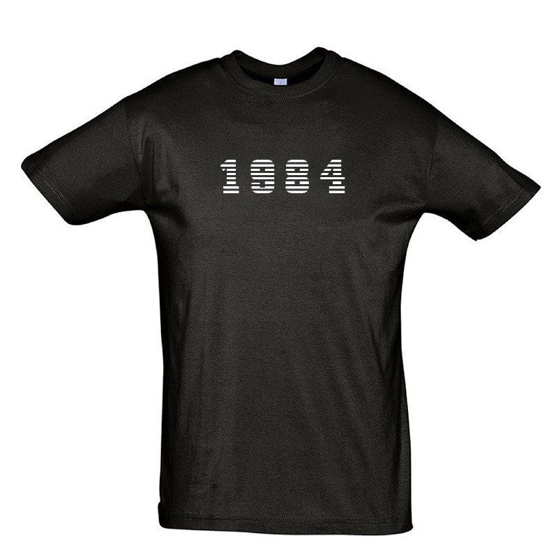 Personlig t-shirt med årgangstryk