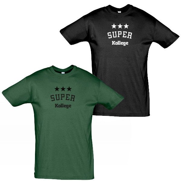 Personlig t-shirt til mænd med tryk