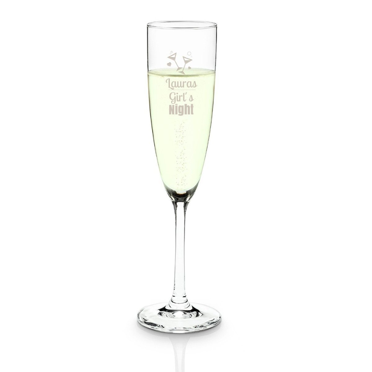 Personligt champagneglas fra Schott Zwiesel