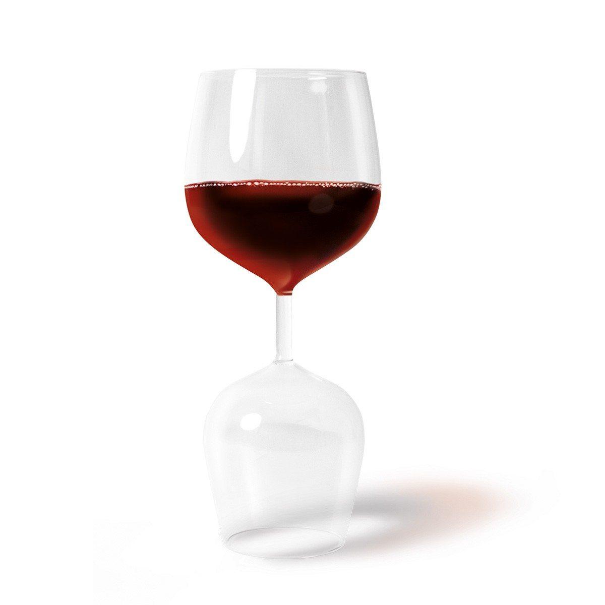 Praktisk rød- og hvidvinsglas i én
