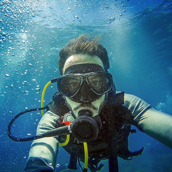 Prøvedyk i havet for 1 person - Vejle