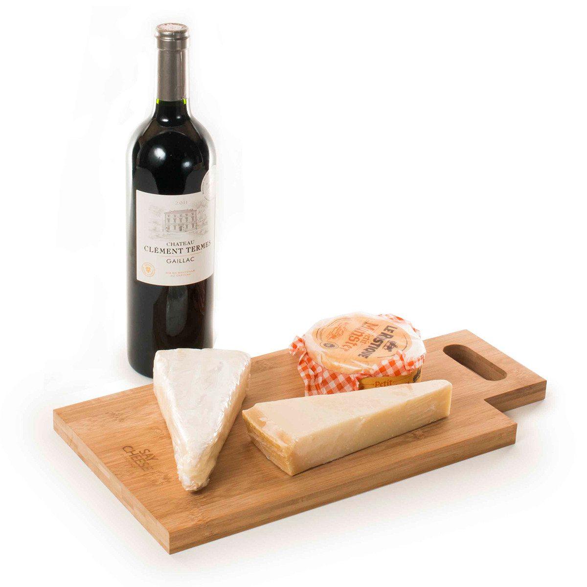 RACKPACK - gaveæske til vin og ost med flere funktioner og indgravering