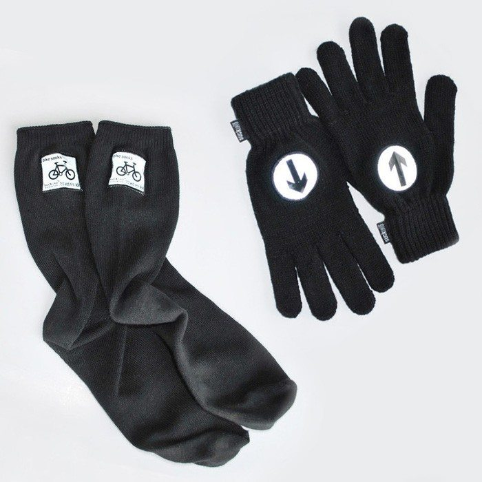 Reflekssokker og -handsker