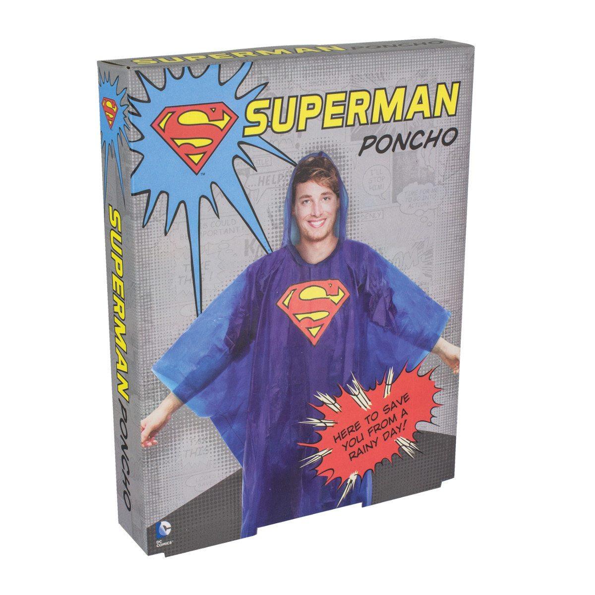 Regnslag med Supermand-motiv