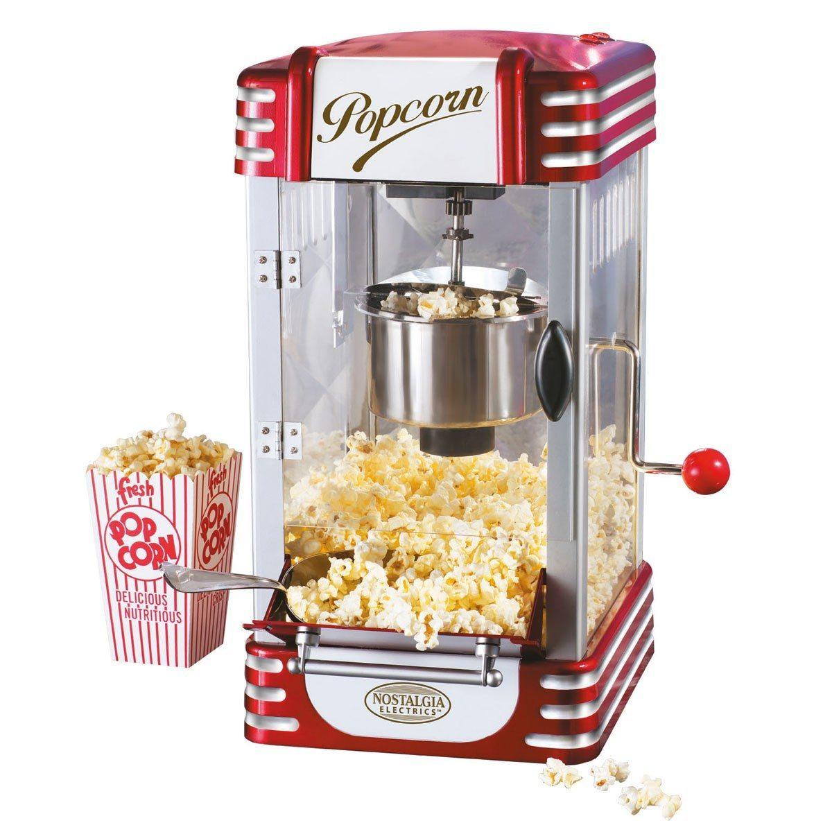 Retro popcornmaskine de luxe