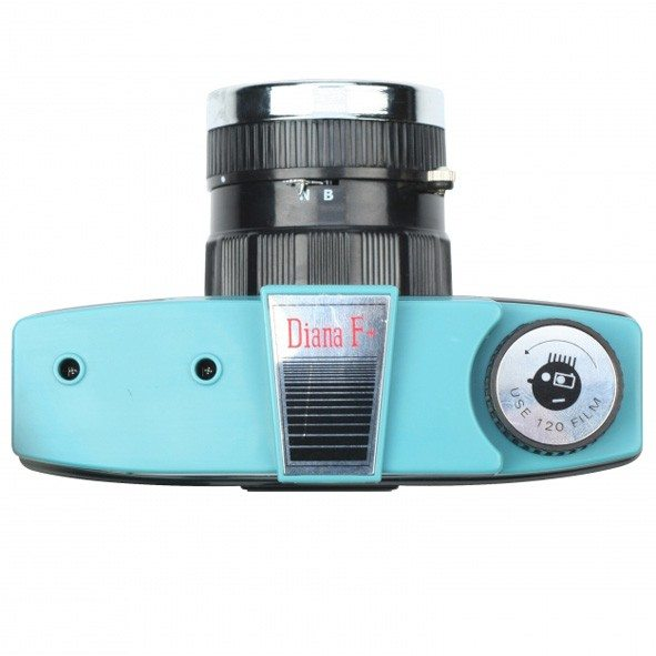 Retrokamera med blitz