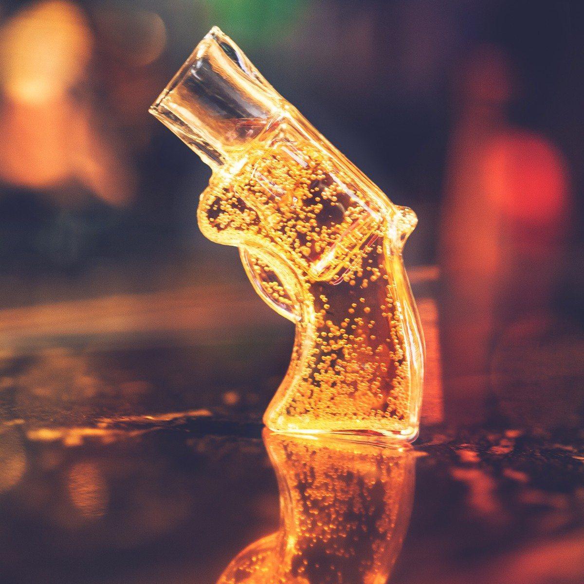 Revolvershotglas