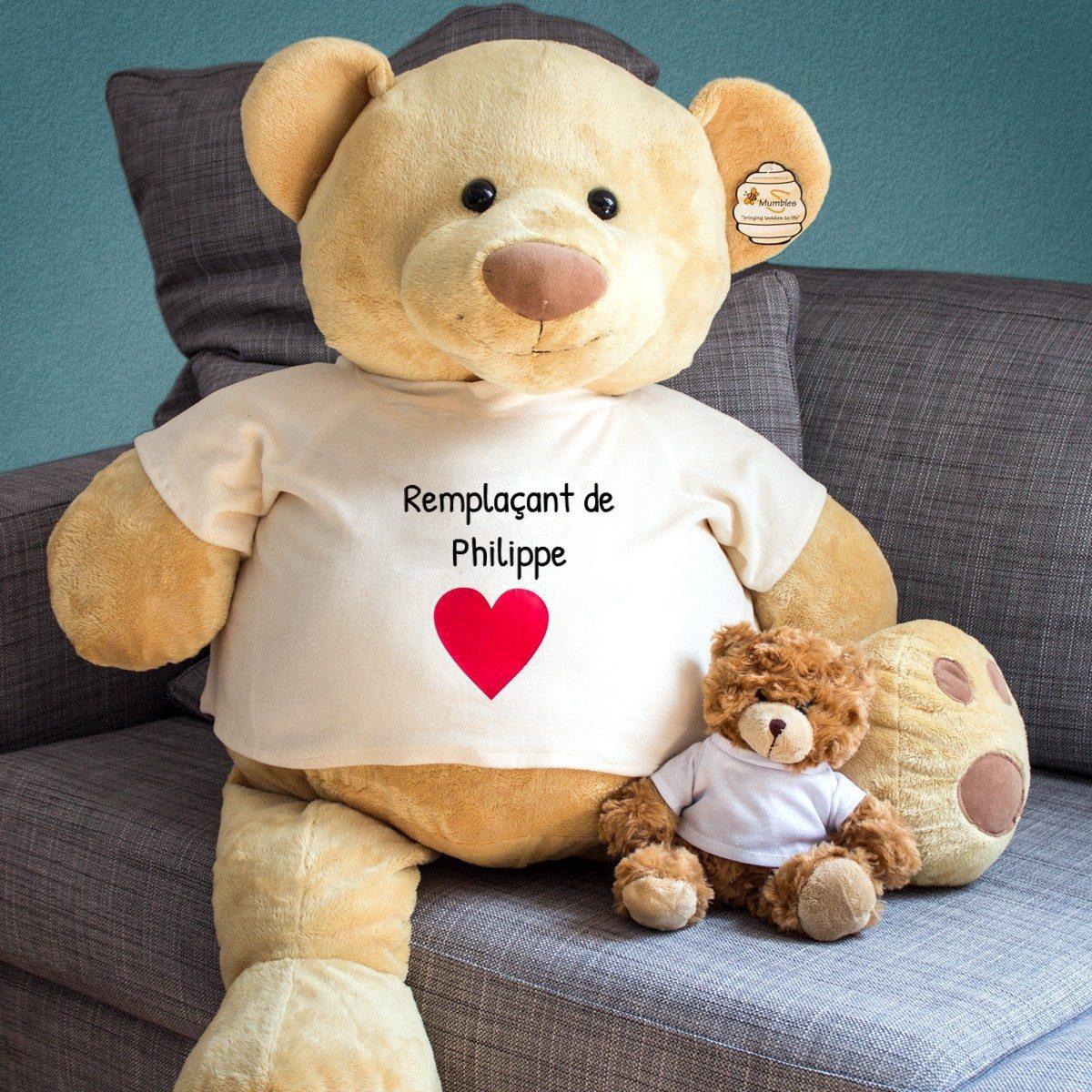 """Riesen-Teddy """"Schatzersatz"""" mit Namen"""