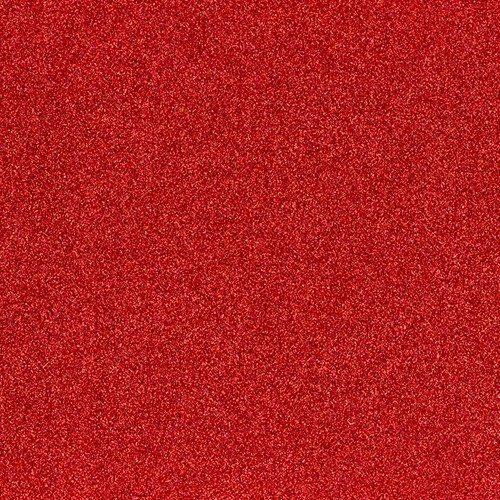 Rødt glimmergavepapir