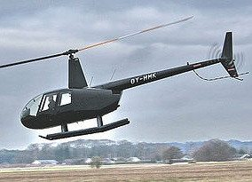 Rundflyvning i helikopter for 3 personer - Greve