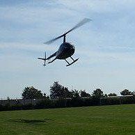Rundflyvning i helikopter for 3 personer - København