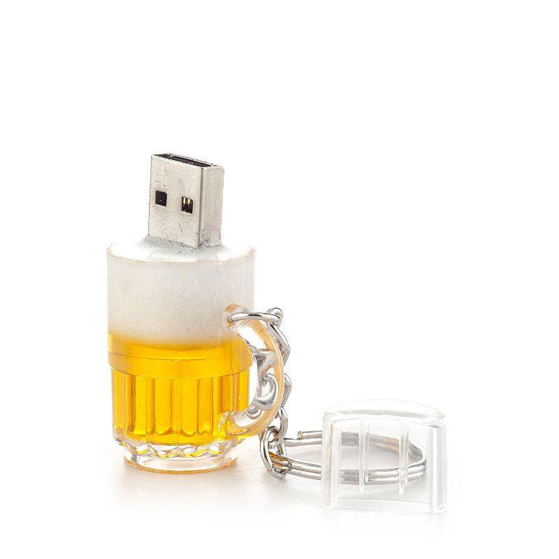 "Schlüsselanhänger-USB-Stick ""Bier"""