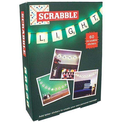 Scrabble-lyskæde