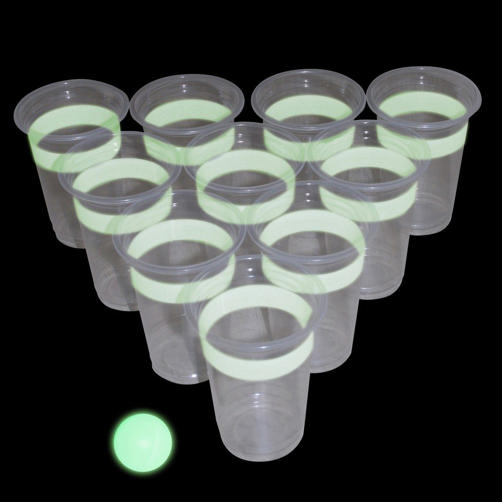 Selvysende øl-pong