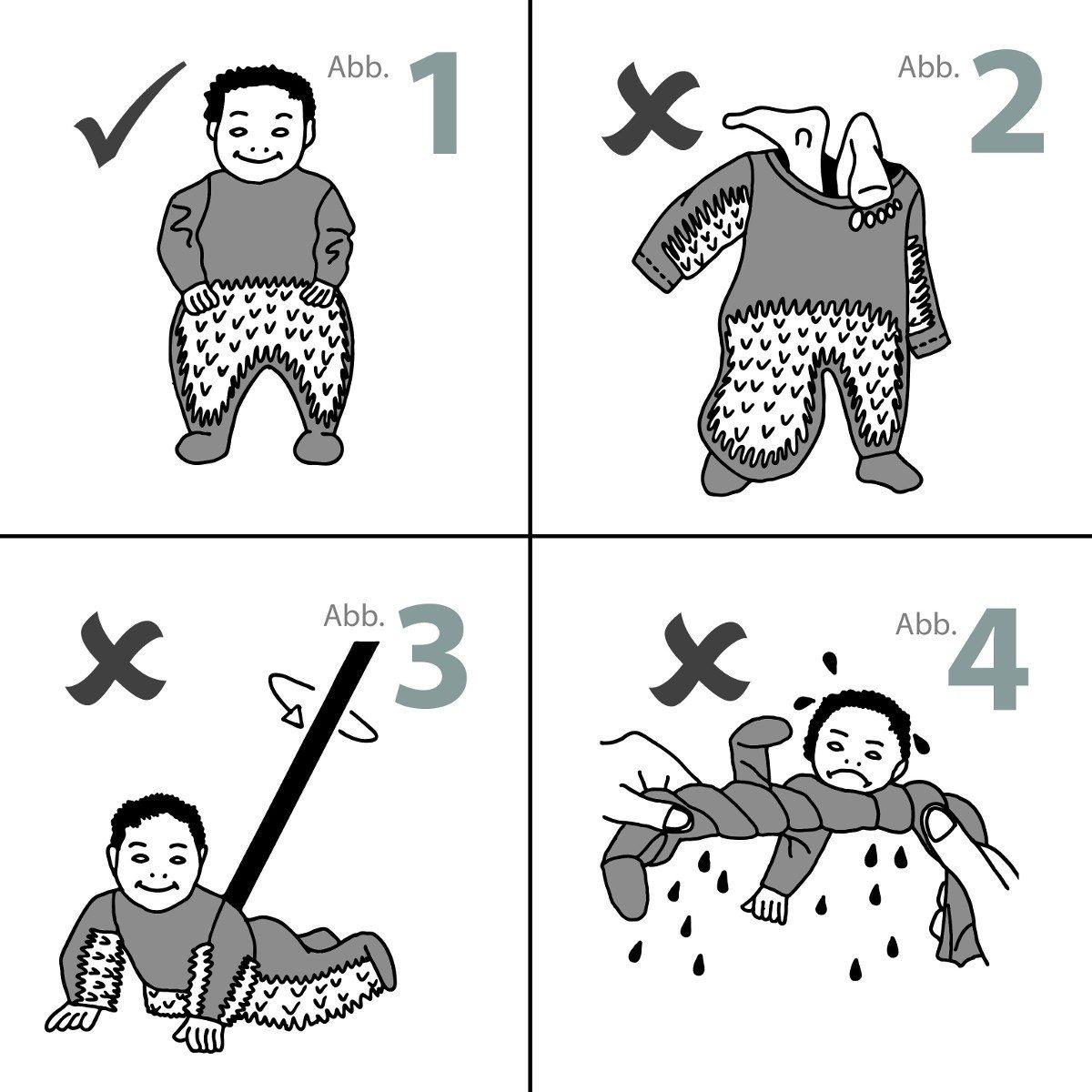 Sjov moppe-sparkedragt