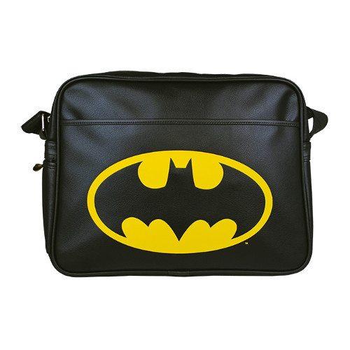 Skuldertaske med Batman-logo