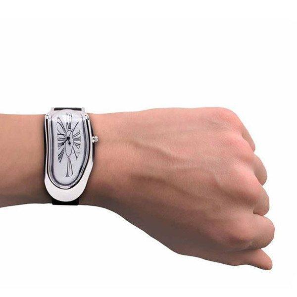 Smeltende armbåndsur
