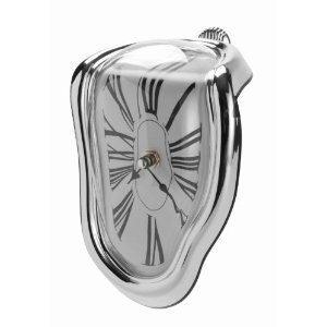 Smeltende ur i Dalí-stil