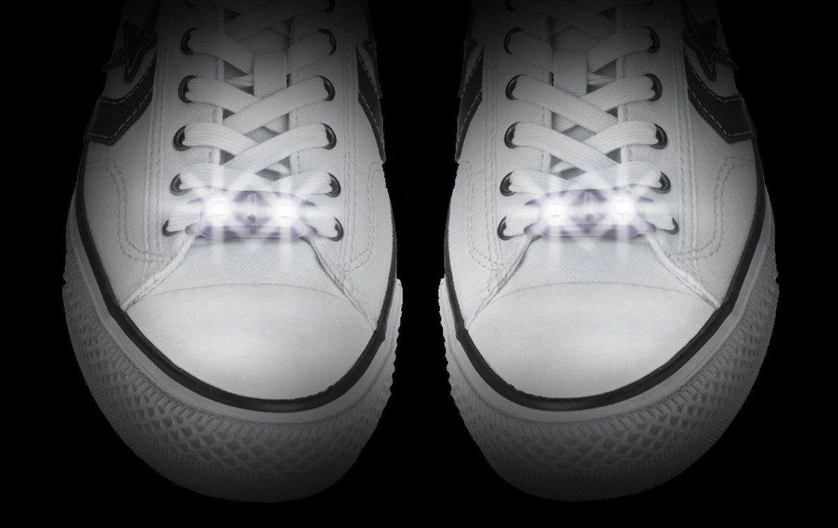 Snørebånd med lys
