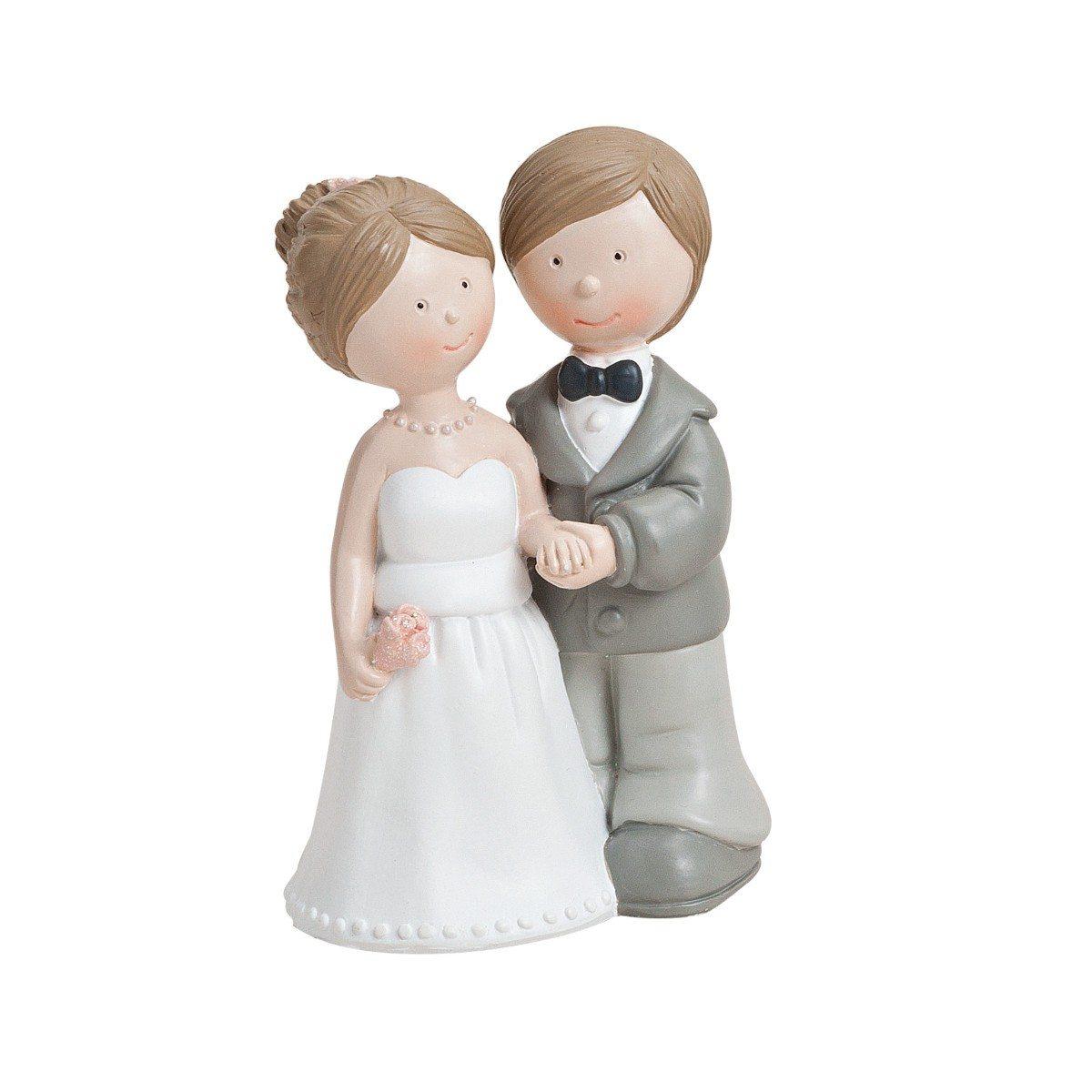 Søde bryllupskagefigurer