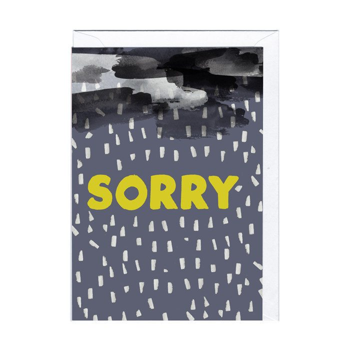 Sorry - kort