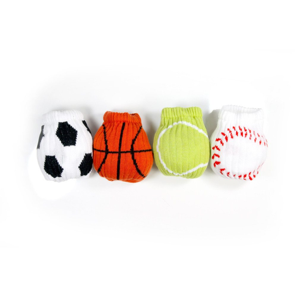 Sportsstrømper med boldemotiv
