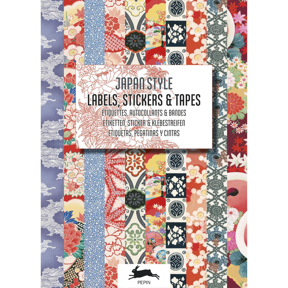 Stickers og etiketter i bogform