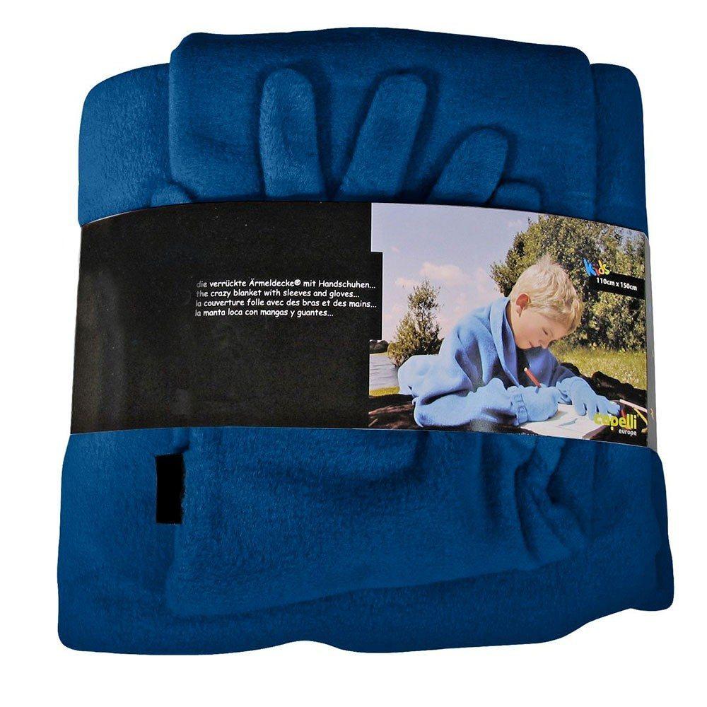 Tæppe med ærmer og handsker til børn