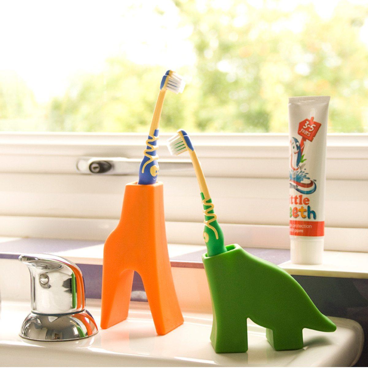 Tandbørsteholder i dyreform