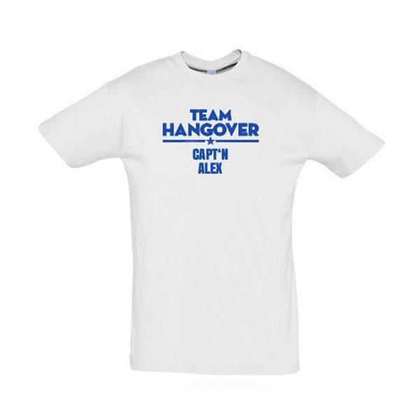 Team Hangover T-shirt med navn