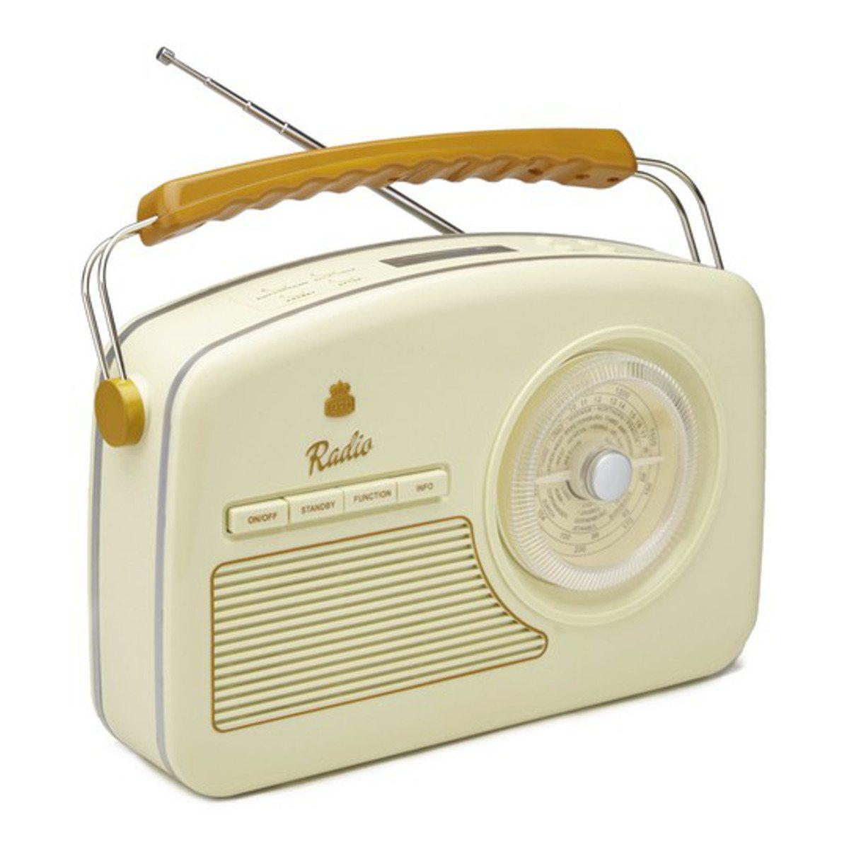 Trendy 50's DAB + Radio Weiß