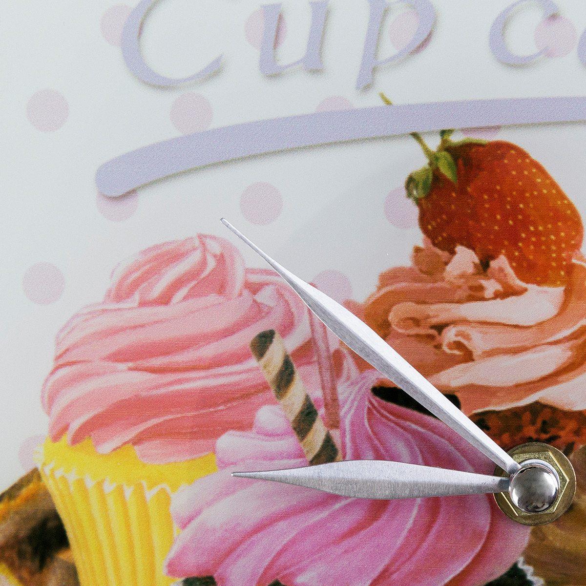 Vægur med cupcakemotiv