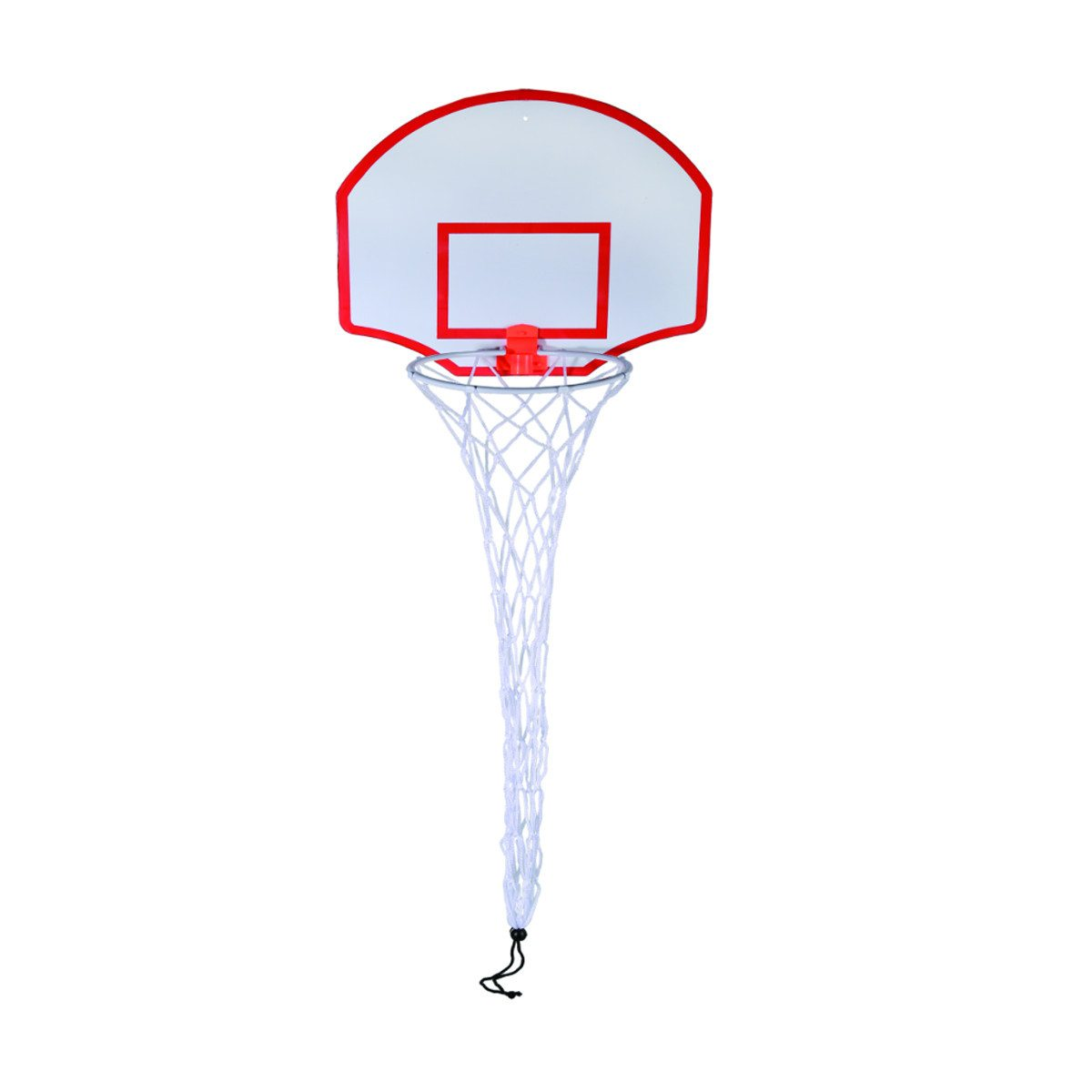 Vasketøjskurv formet som en basketballkurv
