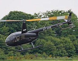 VIP-flyvning i helikopter for 3 personer - Køge