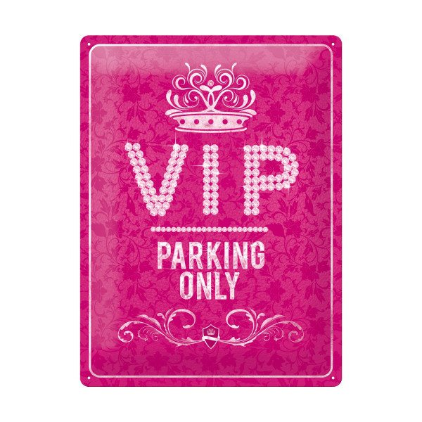 VIP-parkeringsskilt